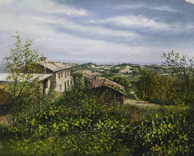 Ancient Italian villa