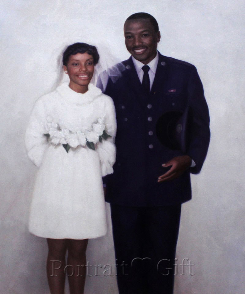 Couple Portrait from Photo