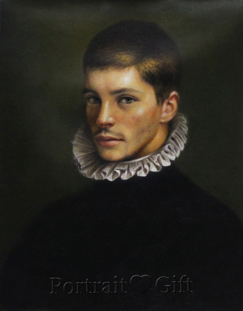 Man Portrait in Classic Style